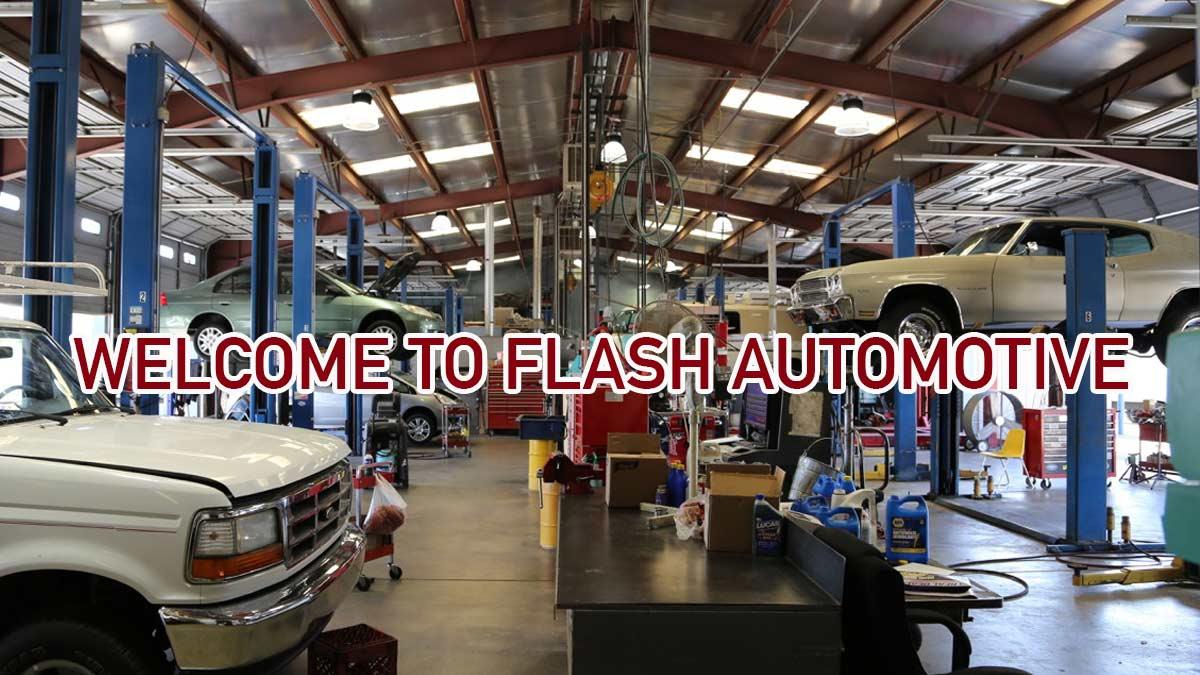Welcome to Flash Automotive Repair Center Albuquerque, NM